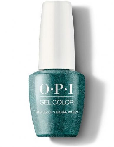 OPI Gelcolor This color is making waves